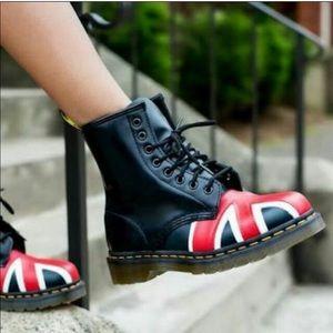 Union Flag Brit Doc Martens Boots
